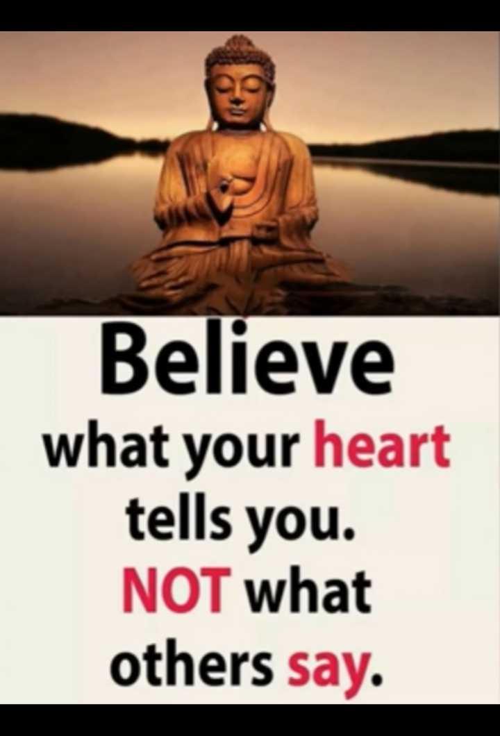 ਮੇਰਾ attitude - Believe what your heart tells you . NOT what others say . - ShareChat