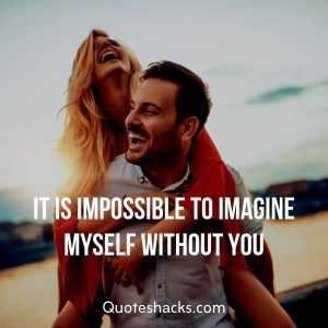 👧ਮੇਰੀ ਬੁੱਗੀ - IT IS IMPOSSIBLE TO IMAGINE MYSELF WITHOUT YOU Quoteshacks . com - ShareChat