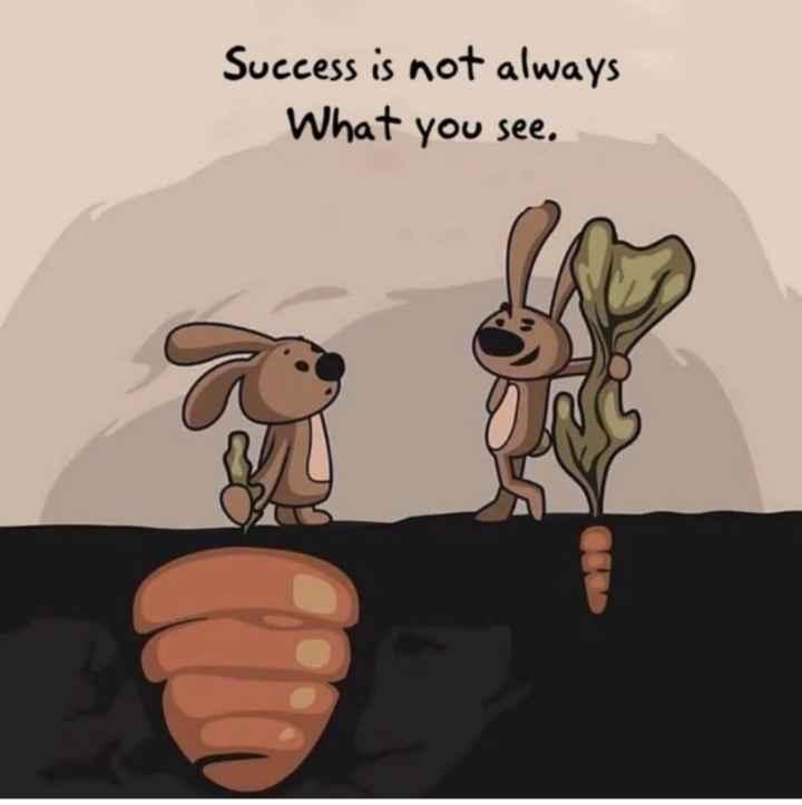 🔍 ਮਜ਼ੇਦਾਰ facts 🔖 - Success is not always What you see . - ShareChat