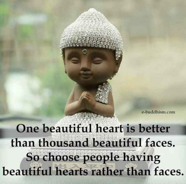 🔍 ਮਜ਼ੇਦਾਰ facts 🔖 - e - buddhism . com One beautiful heart is better than thousand beautiful faces . So choose people having beautiful hearts rather than faces . - ShareChat