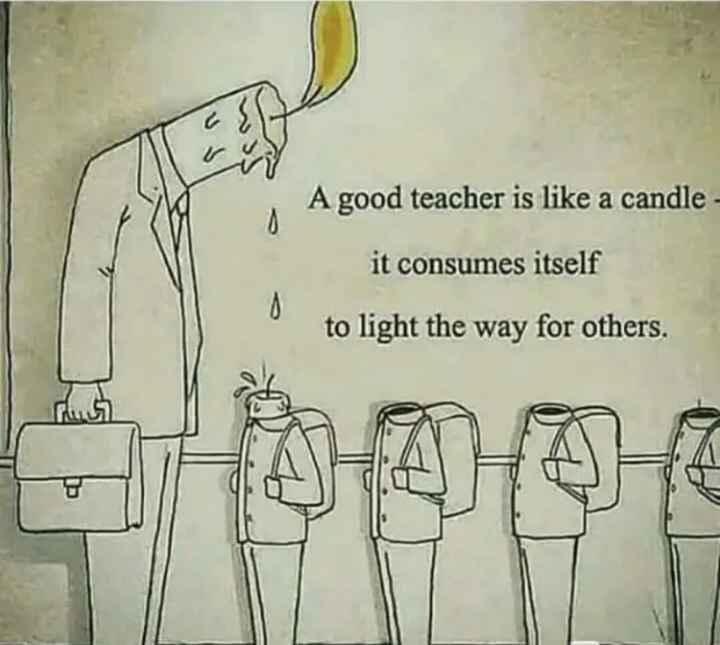 🔍 ਮਜ਼ੇਦਾਰ facts 🔖 - A good teacher is like a candle - it consumes itself O to light the way for others . - ShareChat
