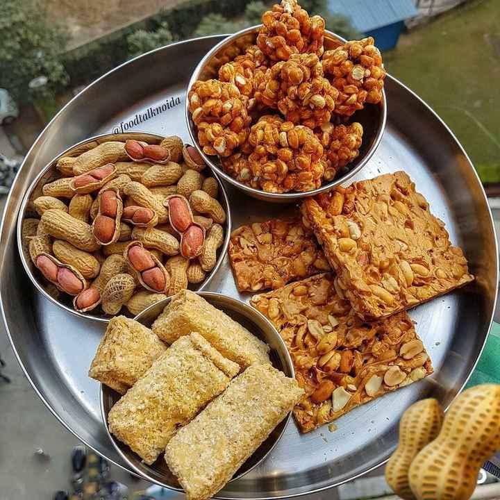 🔥 ਲੋਹੜੀ ਦੀਆਂ ਮੁਬਾਰਕਾਂ 🔥 - @ foodtalknoida - ShareChat