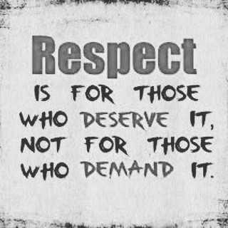 📱 ਵਟਸਐਪ ਸਟੇਟਸ - Respect IS FOR THOSE WHO DESERVE IT , NOT FOR THOSE WHO DEMAND IT . - ShareChat