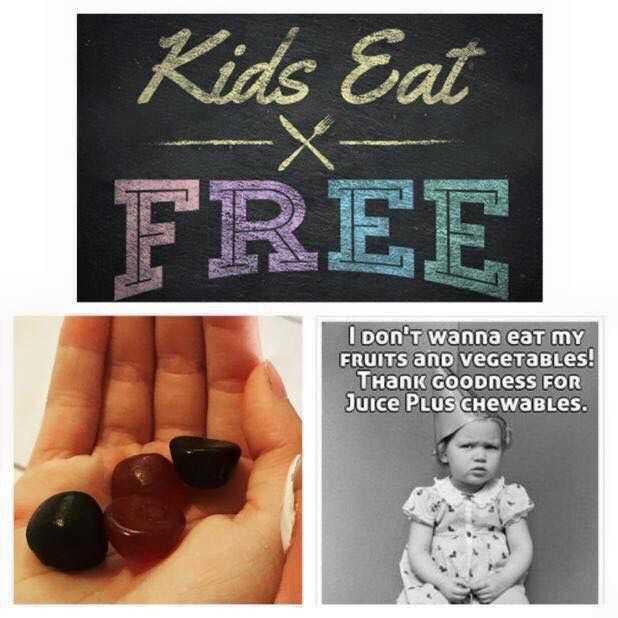 🍹 ਸਪੈਸ਼ਲ ਜੂਸ ਰੈਸਿਪੀ - Kids Eat FREE I don ' t wanna eat my FRUITS and vegetables ! THANK GOODness FOR Juice PLUS CHewables . - ShareChat