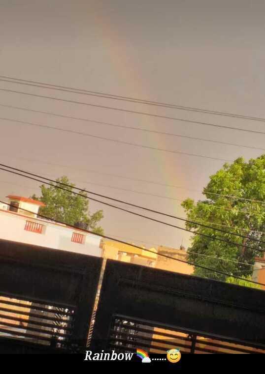 ਸੁਹਾਵਣਾ ਮੋਸਮ - Rainbow - ShareChat