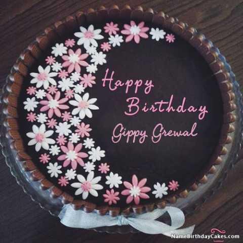 🎂 ਹੈਪੀ ਬਰਥਡੇ ਗਿੱਪੀ ਗਰੇਵਾਲ 👨🏻🎤️ - Happy Birthday Gippy Grewal NameBirthdayCakes . com - ShareChat