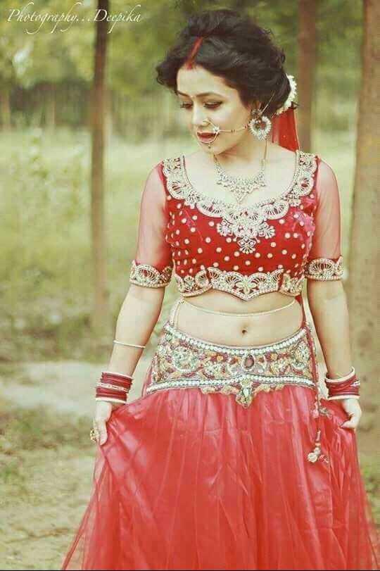 🎂ਹੈਪੀ ਬਰਥਡੇ ਨੇਹਾ ਕੱਕੜ🎈 - Photography . . Deepika - ShareChat
