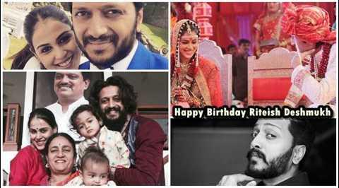 🎂 ਹੈਪੀ ਬਰਥਡੇ ਰਿਤੇਸ਼ ਦੇਸ਼ਮੁਖ - Happy Birthday , Riteish Deshmukh - ShareChat