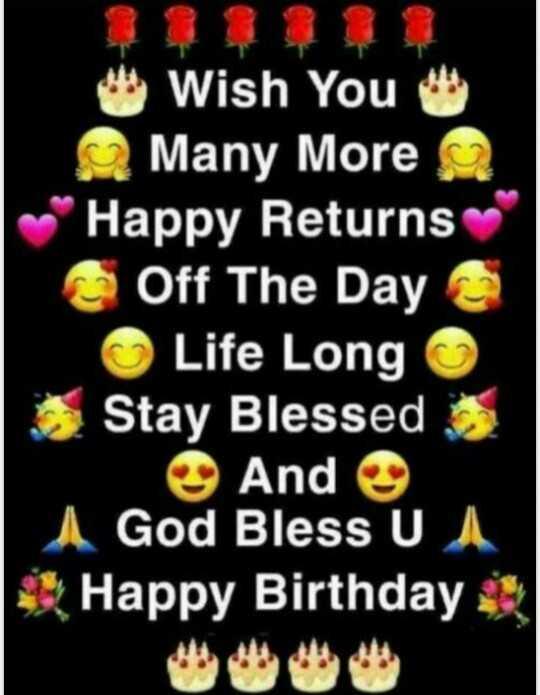 🎊 ਹੈਪੀ ਬਰਥਡੇ ਸੋਨੀਆ ਮਾਨ - Wish You Many More Happy Returns Off The Day Life Long Stay Blessed And I God Bless U I Happy Birthday - ShareChat