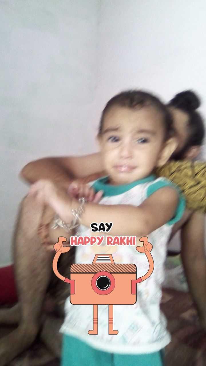👫 ਹੈਪੀ ਰੱਖੜੀ - SAY HAPPY RAKHIR - ShareChat