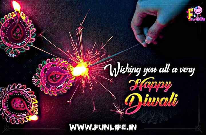 ਹੈਪੀ diwali - Wishing you all a very Hoppy GULTU S iwali WWW . FUNLIFE . IN - ShareChat