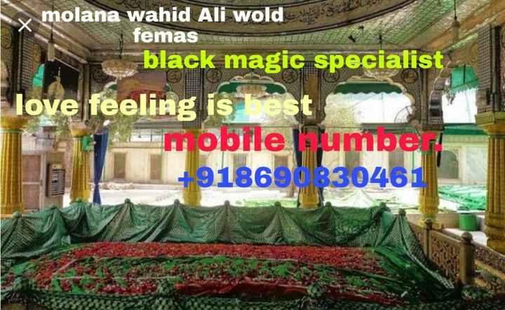 🏑  ਹੋਕੀ - Smolana wahid Ali wold 53 femas black magic specialist love feeling is 122 mobile lumber + 91869 330461 - ShareChat