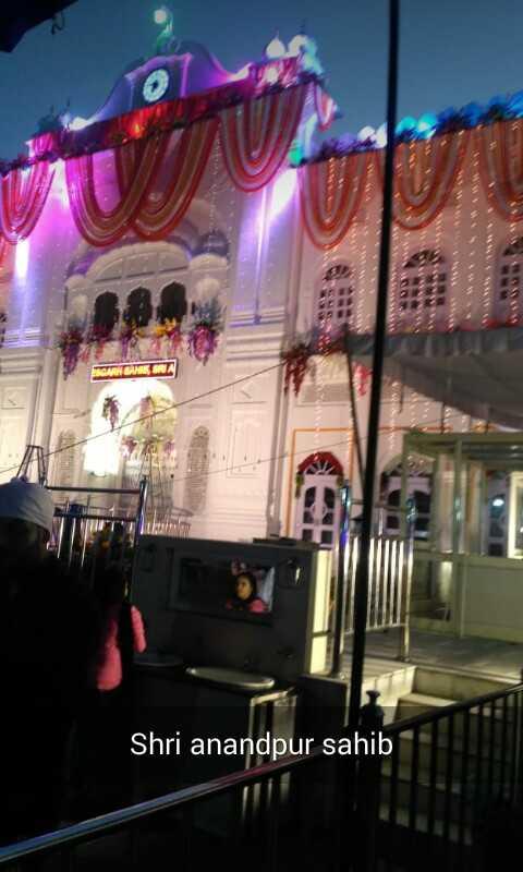 🙏🏻 ਹੋਲਾ ਮਹੱਲਾ - RENA Shri anandpur sahib - ShareChat