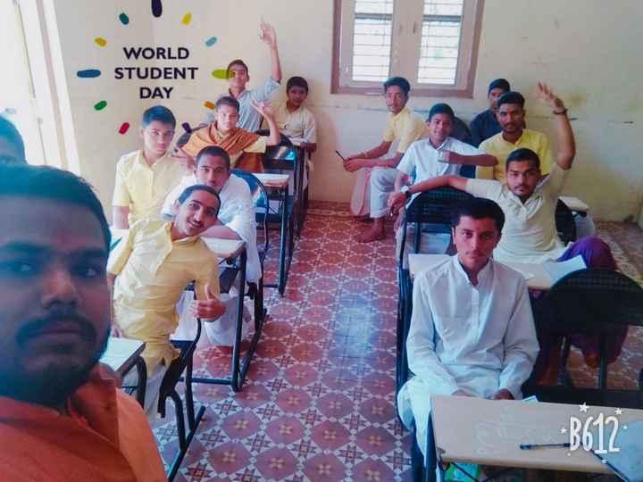💐 અબ્દુલ કલામ જન્મજયંતિ - WORLD STUDENT DAY RA WA 8612 * - ShareChat