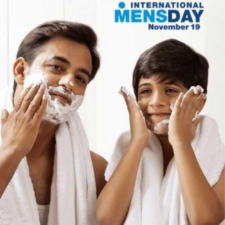 🤴 આંતરરાષ્ટ્રીય પુરુષ દિવસ - • INTERNATIONAL MENSDAY November 19 - ShareChat