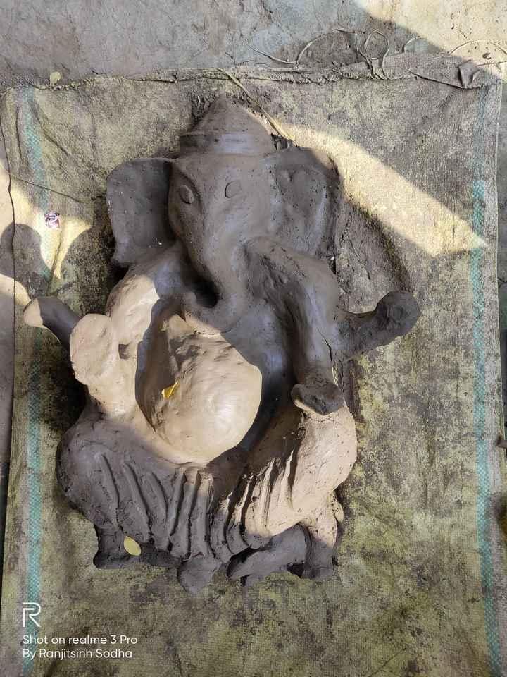 💚 ઇકો ફ્રેન્ડલી ગણેશા - SIE BER Shot on realme 3 Pro By Ranjitsinh Sodha - ShareChat