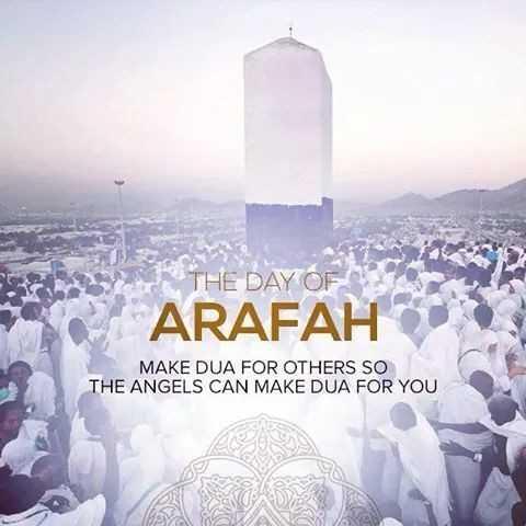 🕌 ઈબાદત - THE DAY OF ARAFAH MAKE DUA FOR OTHERS SO THE ANGELS CAN MAKE DUA FOR YOU AN ATA - ShareChat