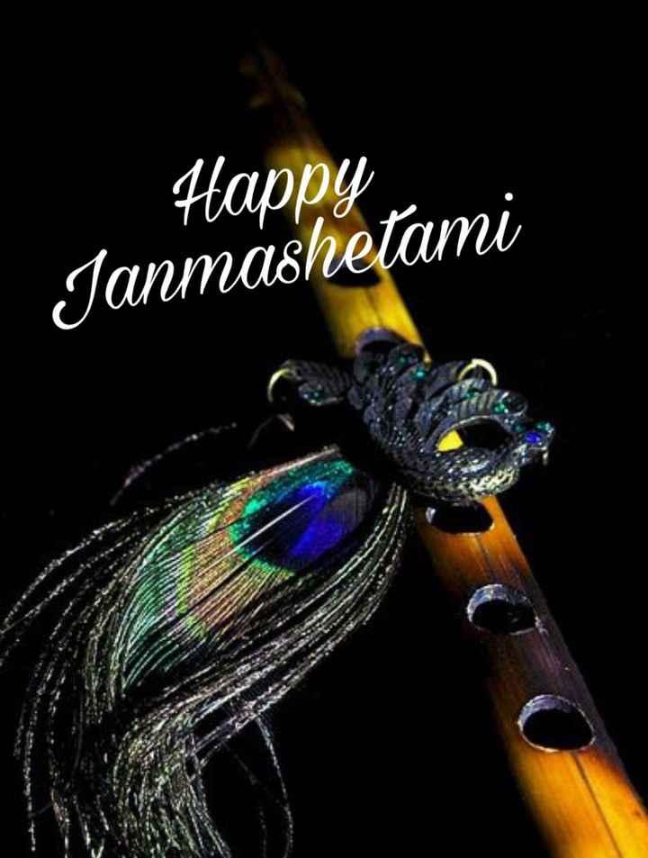 🙏 કૃષ્ણ જન્માષ્ટમી - Happy Janmashetami - ShareChat