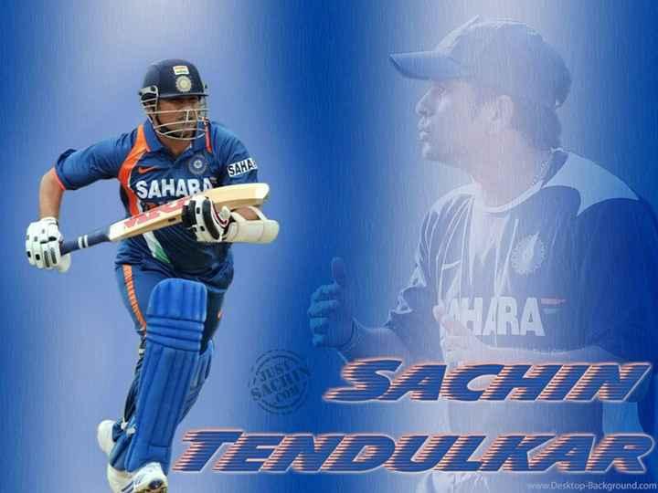 🏏 ક્રિકેટ દિવસ - SAHARA SHIRA SACHEI TEDULKAR www . Desktop - Background . com - ShareChat