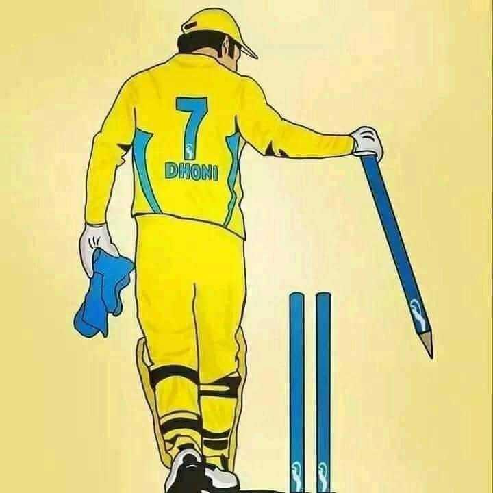🏏 ક્રિકેટ દિવસ - DHONI - ShareChat