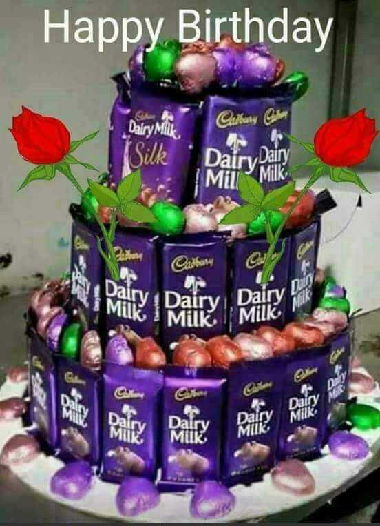 🎂 જન્મદિવસ - Happy Birthday Dairy Milk Cartun Cina Dairy Dairy Silk 1 Mil Milk Cadbana Dairy Dairvi ΚΟΣΜΙΚΟ Milk Dairy Muk Dairy MUK - ShareChat