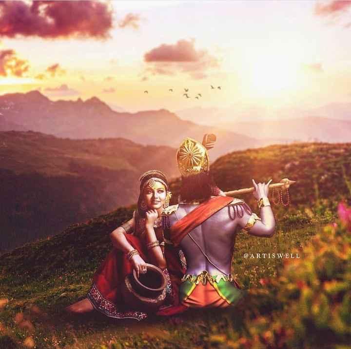 🙏 જય શ્રી કૃષ્ણ - @ ARTIS WELL - ShareChat