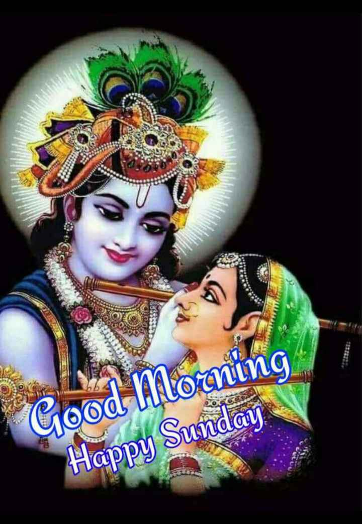 🙏 જય શ્રી કૃષ્ણ - Good Morning Happy Sunday - ShareChat