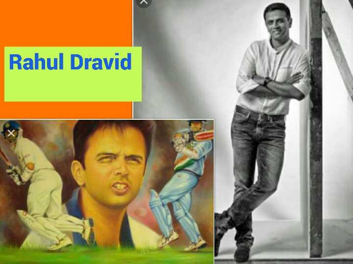 🏏ટીમ ઇન્ડિયા - Rahul Dravid - ShareChat