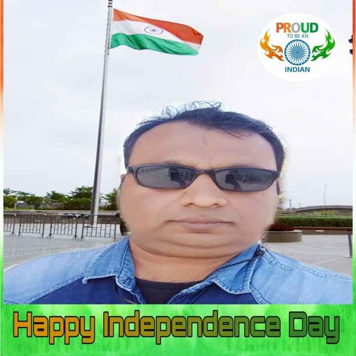 🤳 તિરંગા સાથે સેલ્ફી - PROUD TO BE AN INDIAN Happy Independence Day - ShareChat