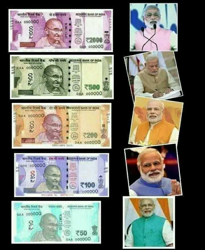 🌷 નરેન્દ્ર મોદી - RESERVE BANK OF INDIA = dAA dog000 । SPECIMEN 02 04 000000 अरतीय कि बैंक पाच सौ रुपये ERY BANK OF INDA = 0kA000000 005 3 0 06 # 200000 BANK बल वो रुपE 04 000000 000000 भारतीय रिजर्व बैंक एकाश्य EिSERVEEK0FDIA 000000000 | | 00 = 100 000000000 । हरती कि 9A . A oooo00 3133S 50 0AA 000000 - ShareChat