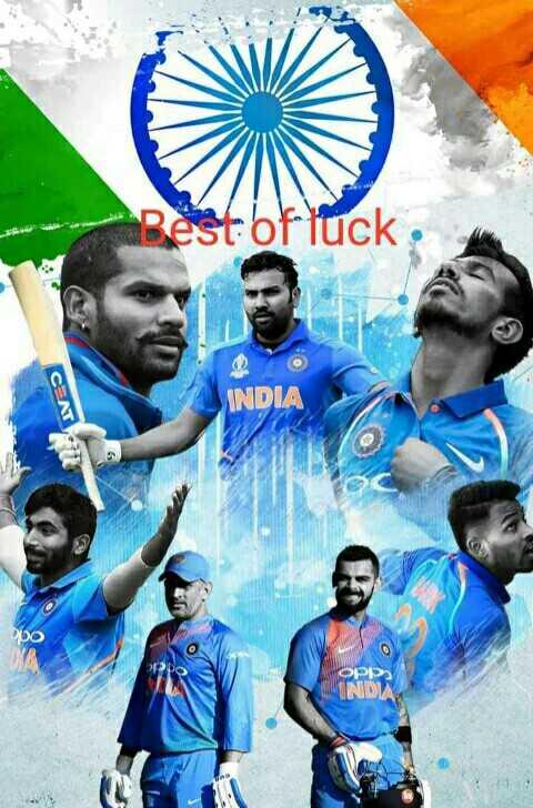 👍 બેસ્ટ ઓફ લક : India - Best of luck CENT INDIA OIDI IND - ShareChat