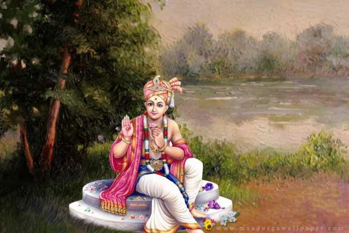 🙏 ભગવાન સ્વામિનારાયણ જ્યંતી - www . ma a durga wallpaper . com - ShareChat