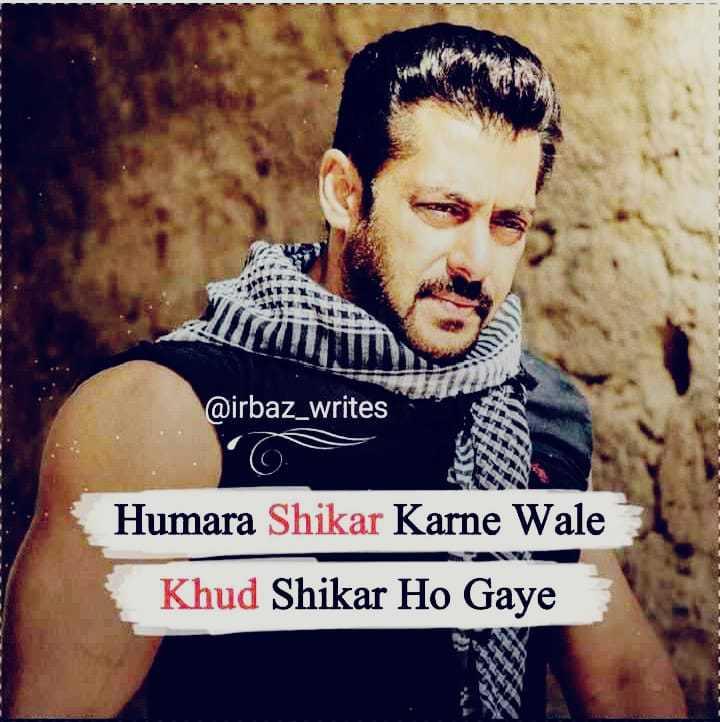 👓 ભાઈનો વટ - @ irbaz _ writes Humara Shikar Karne Wale Khud Shikar Ho Gaye - ShareChat