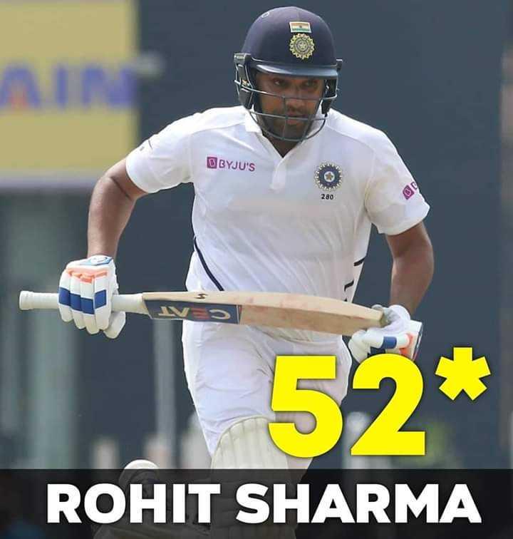 🇮🇳 ભારત vs સાઉથ આફ્રિકા 🇿🇦 - IN BYJU ' S 52 * ROHIT SHARMA - ShareChat