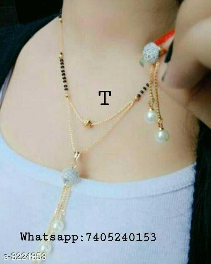 😘 મંગલસુત્ર ડીઝાઇન - 55555555 Whatsapp : 7405240153 S - 3224358 - ShareChat