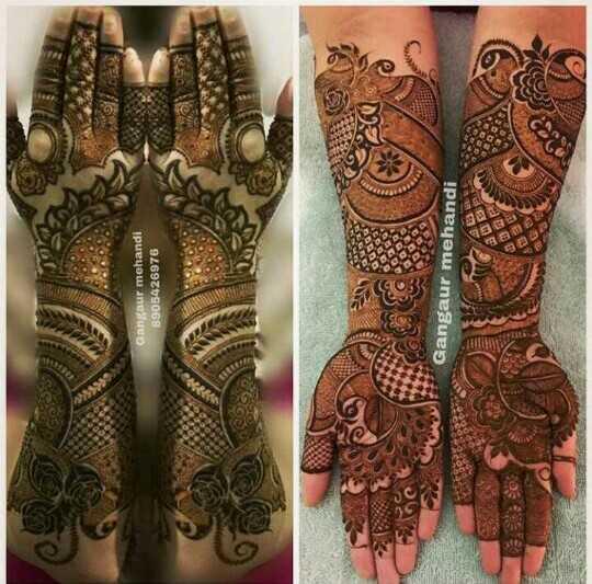 🤲 મહેંદી ડીઝાઇન - Gangaur mehandi 8905426976 Gangaur mehandi - ShareChat