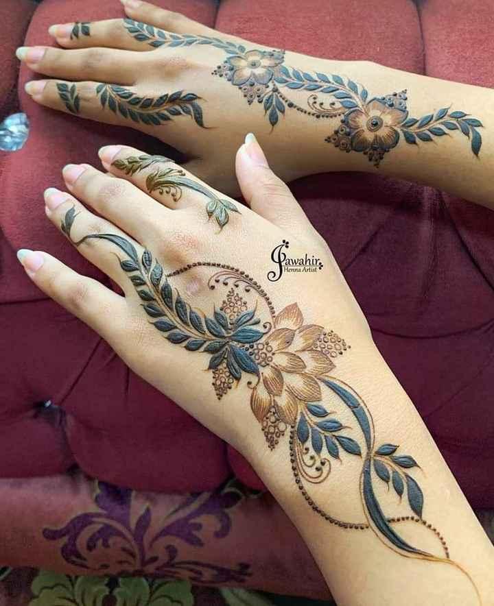 🤲 મહેંદી ડીઝાઇન - awahir . Henna Artist 00 1996 - ShareChat