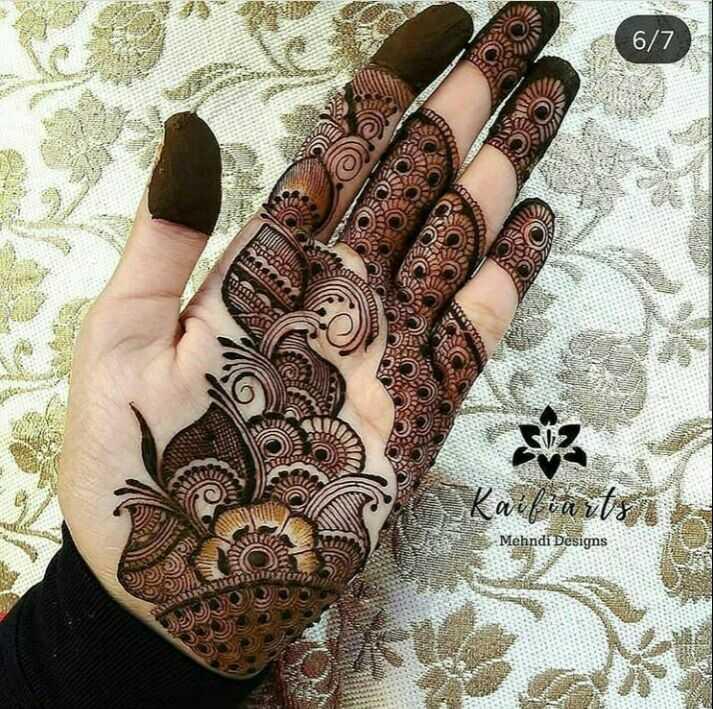 🤲 મહેંદી ડીઝાઇન - 6 / 7 OUW Mehndi Designs SS - ShareChat