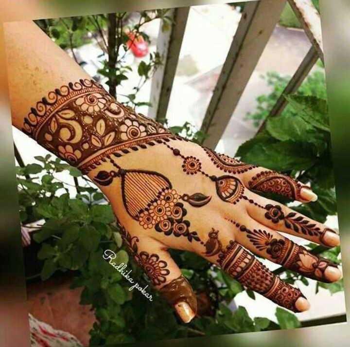 🤲 મહેંદી ડીઝાઇન - RO TON BER Radhika pokar - ShareChat