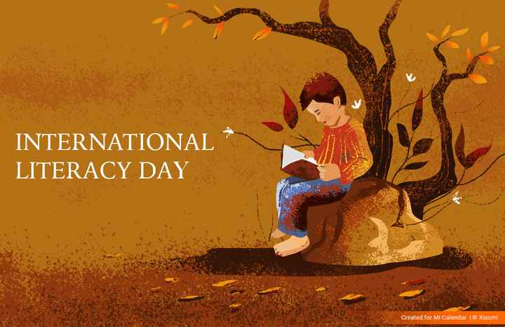 📝 મારાં ભણતરનો વિડિઓ - INTERNATIONAL LITERACY DAY PA Created for Mi Calendar | © Xiaomi - ShareChat
