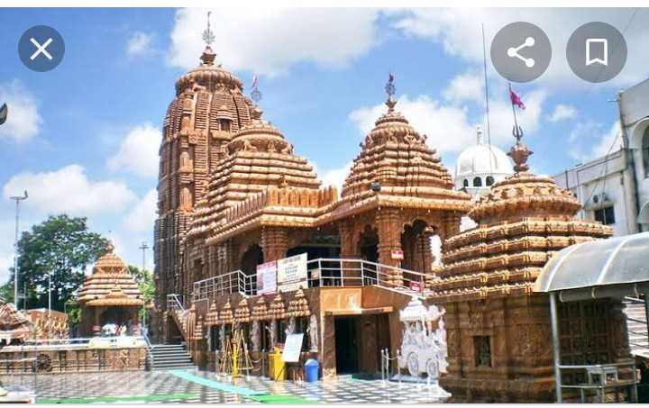 🌞 મારાં શહેરનું જગન્નાથ મંદિર - = = = 行行 - ShareChat