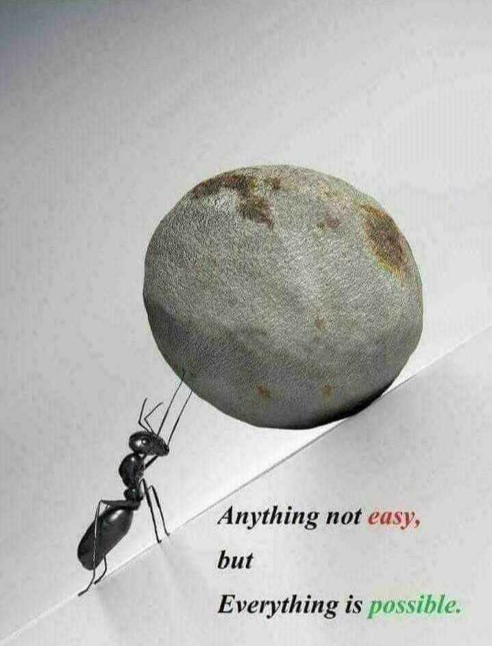 🚀 મિશન ચંદ્રયાન-2 - Anything not easy , but Everything is possible . - ShareChat