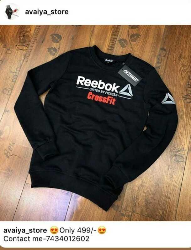 🤵 મેન્સ ફેશન - avaiya _ store Reebok A - UNITED BY FITNESS CrossFit avaiya _ store Only 499 / - * Contact me - 7434012602 - ShareChat
