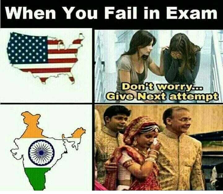 🤣 રમુજી ફોટો - When You Fail in Exam Don ' t worry . . . Give Next attempt - ShareChat
