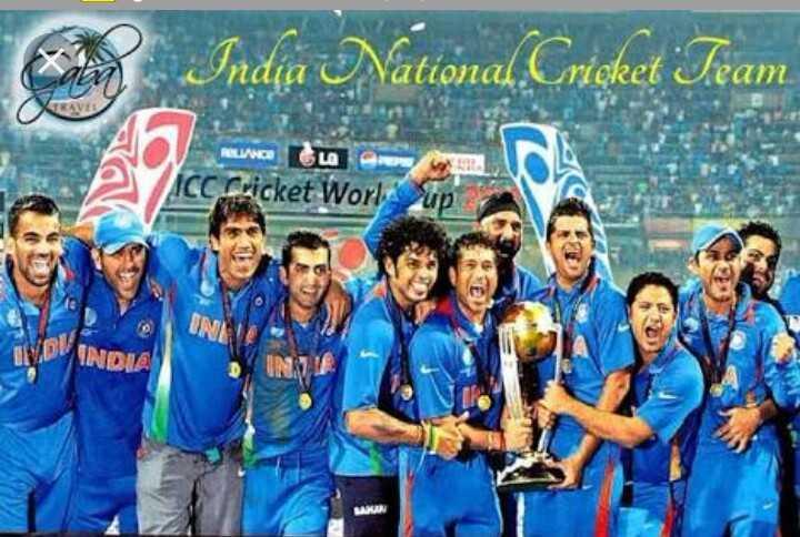 🏏 રાષ્ટ્રીય ક્રિકેટ દિવસ - India Nattonal . Crişket Team ROLINA LA CC Cricket Worl up INDIE - ShareChat