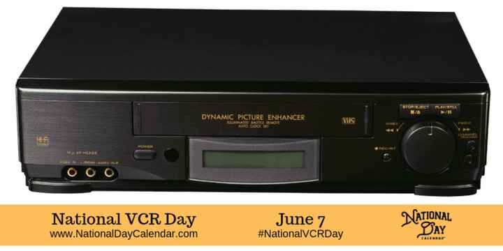 📼 રાષ્ટ્રીય VCR દિવસ - DYNAMIC PICTURE ENHANCER MARIE BEMORE VIIS HI - FI OLINA ооо National VCR Day www . National DayCalendar . com National VCR Day June 7 # NationalVCRDay June pony NATIONAL play Bay - ShareChat