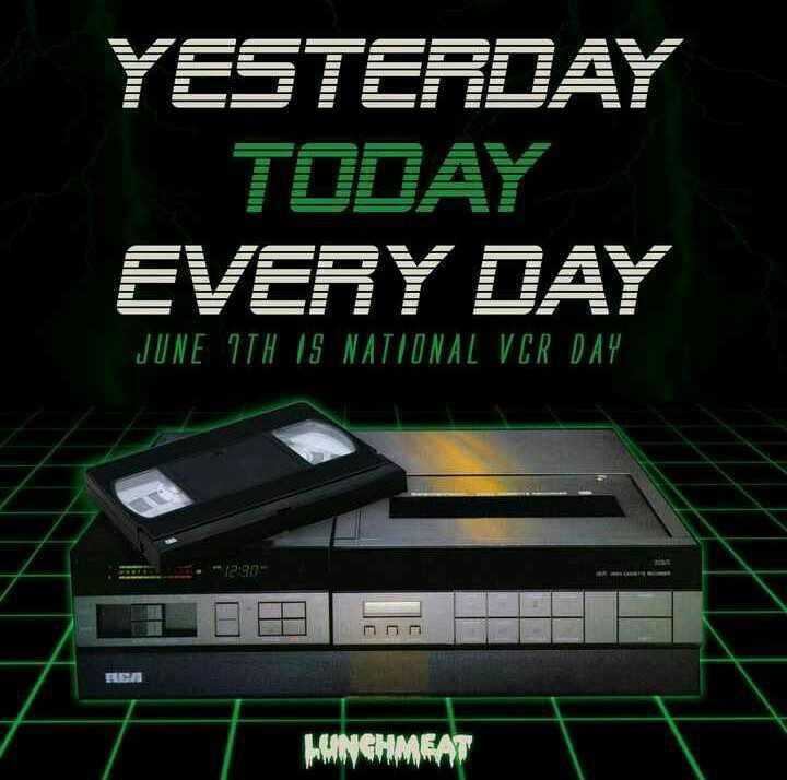 📼 રાષ્ટ્રીય VCR દિવસ - ShareChat