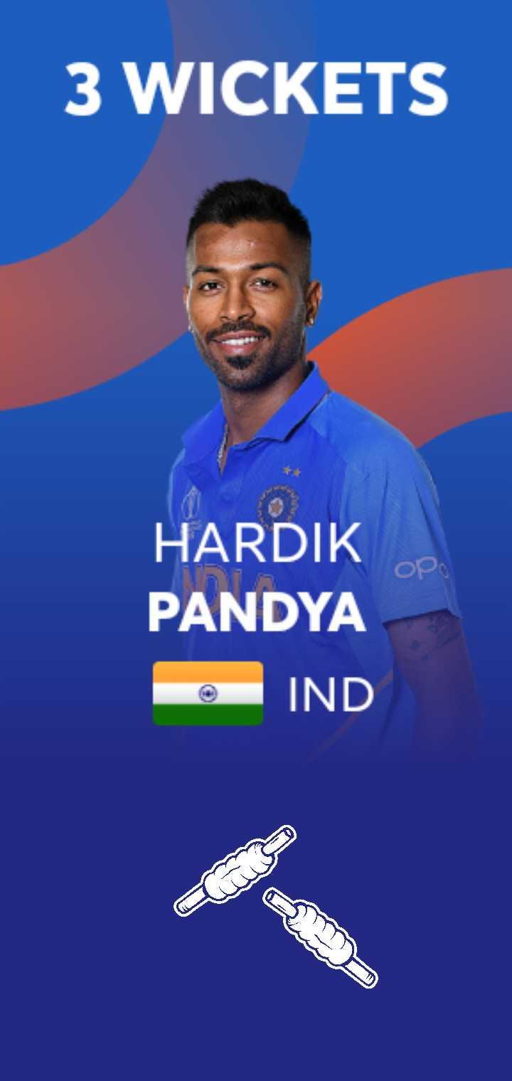📊 વર્લ્ડ કપ લાઈવ સ્કોર - 3 WICKETS ор HARDIK PANDYA IND - ShareChat