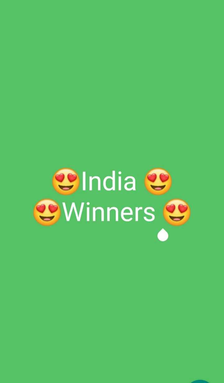 🏆 વર્લ્ડ કપ 2019 - India Winners - ShareChat