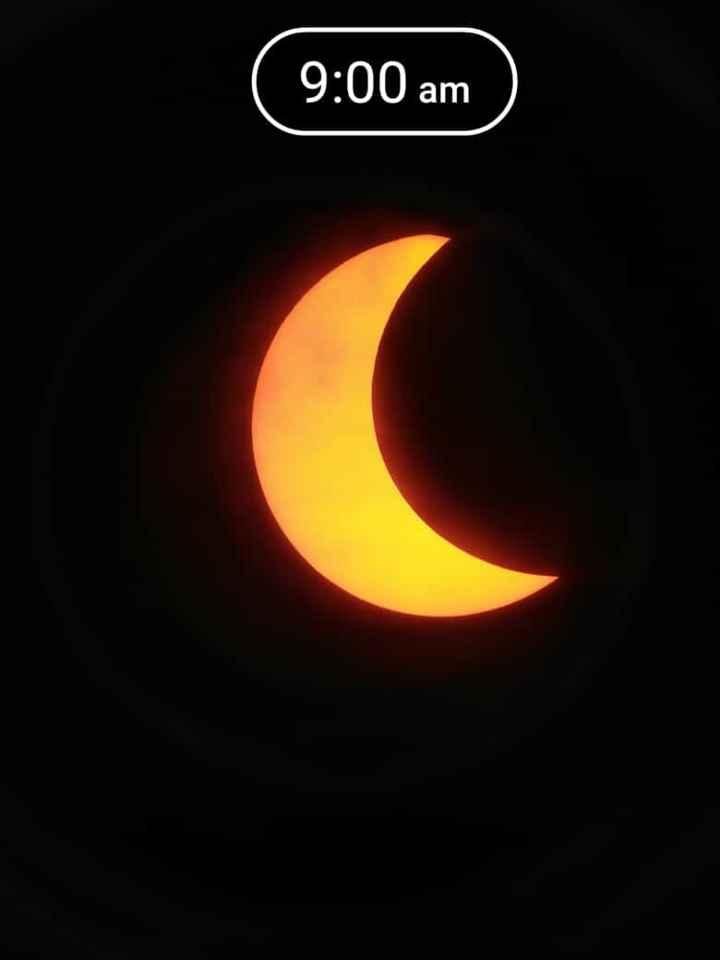 🌞 વર્ષ 2019 નું સૂર્ય ગ્રહણ - 9 : 00 am - ShareChat